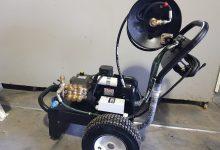 מכונה לפתיחת סתימות בלחץ מים